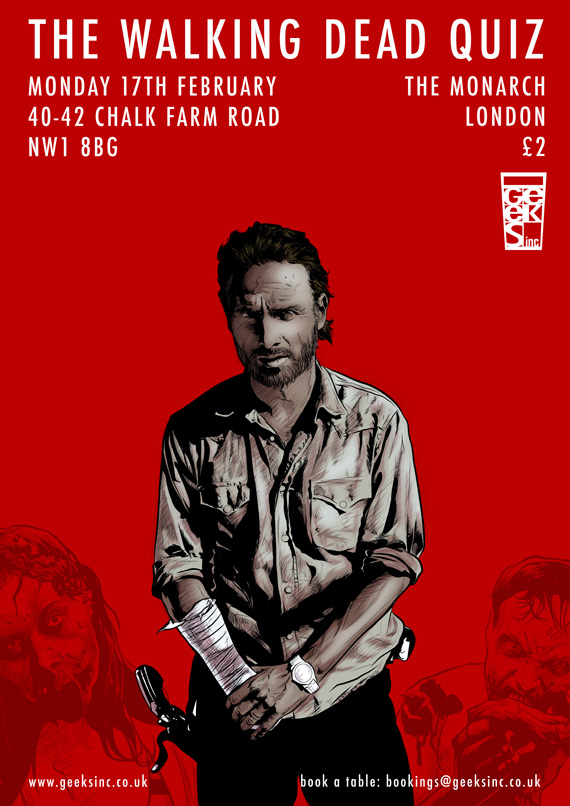 The Walking Dead quiz poster