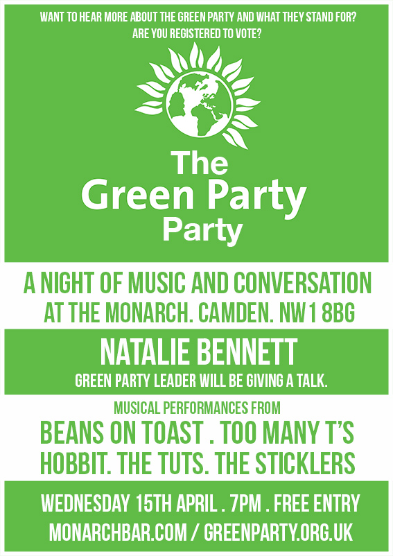 GREEN PARTY PARTY web
