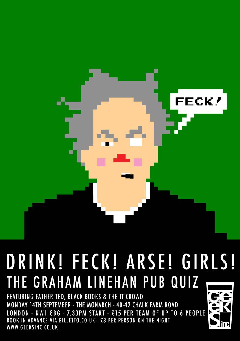 Graham Linehan poster